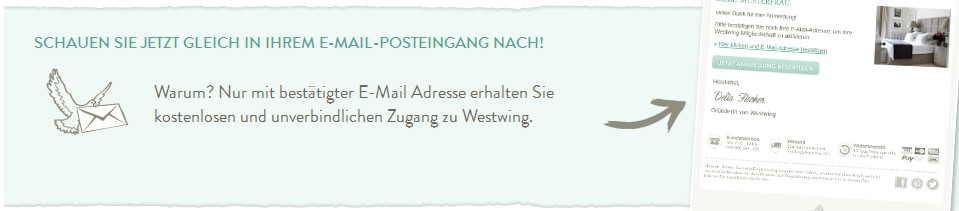 Westwing E-Mail