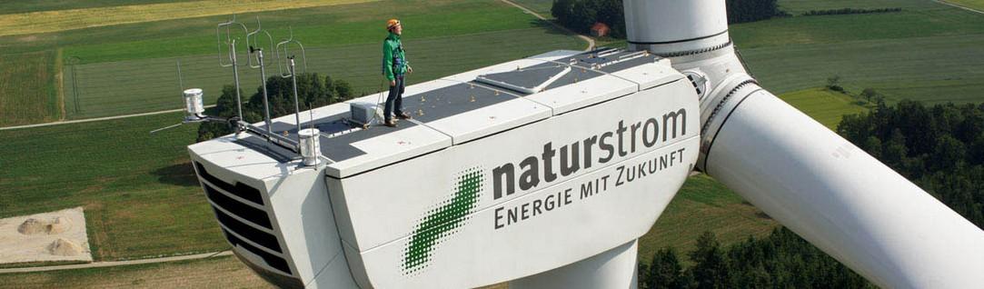 Naturstrom Windenergie