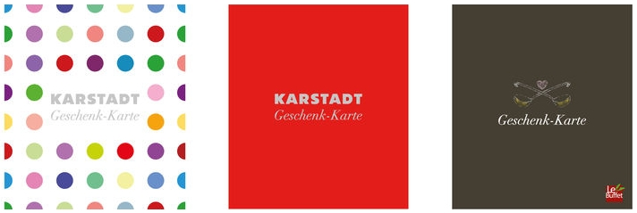 Karstadt Geschenkkarte