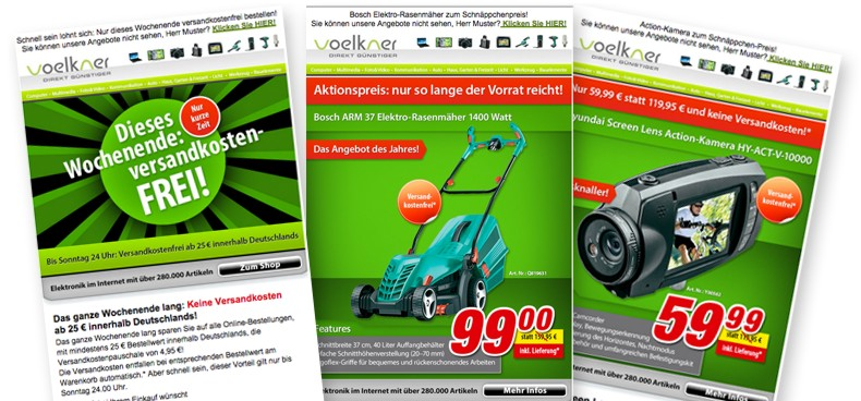 voelkner Newsletter