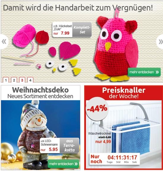 Die moderne Hausfrau ProdukteDie moderne Hausfrau Produkte