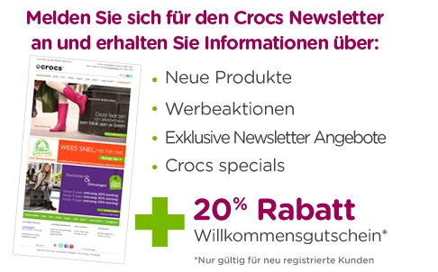 Crocs Newsletter